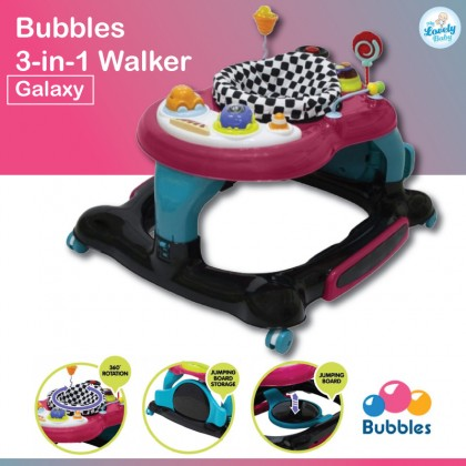 Bubbles 3 in 1 Baby Walker