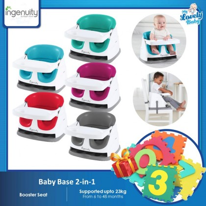 Ingenuity Baby Base 2-in-1 Version 3.0 (FOC Number Puzzle Mat)