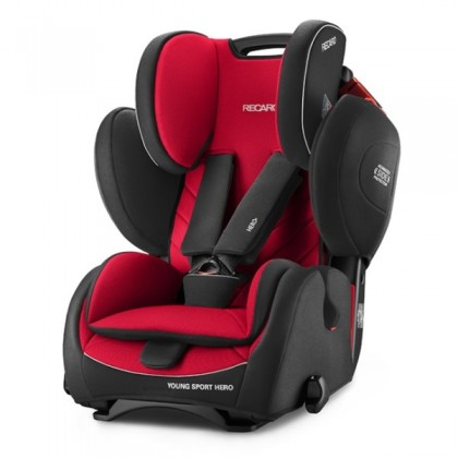 Recaro Young Sport Hero Car Seat (FOC Recaro Limited Edition Suction Bottle Butterfly Thermal)