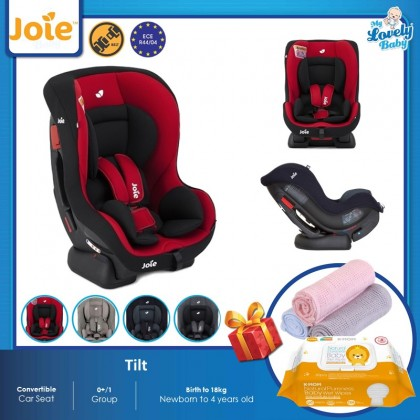 Joie Tilt Convertible Car Seat (Free Comfy Blanket + K-mom Wet Wipes)