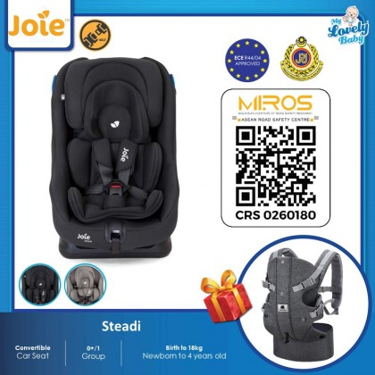 Joie Steadi Convertible Car Seat ( Free Meinkind Shoulder Carrier )