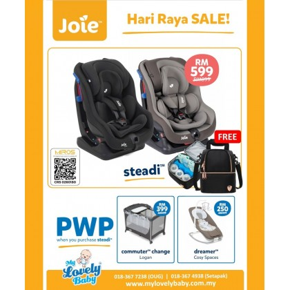 Joie Steadi Convertible Car Seat (Rico Wet Wipes 70pcs x2)