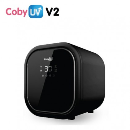 Coby UV Sterilizer Version 2.0 (Free Double Layers Cooler Bag / Wet Wipes 70pcs x3 / Booster Car Seat / Stroller)