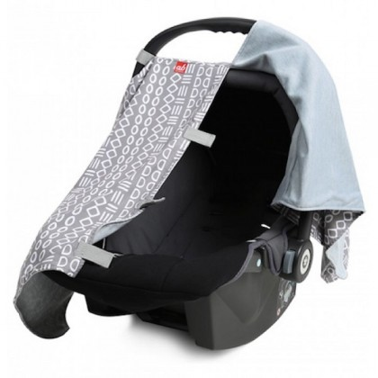 Akarana CFC01 Infant Car Seat Carrier Fabric Cover