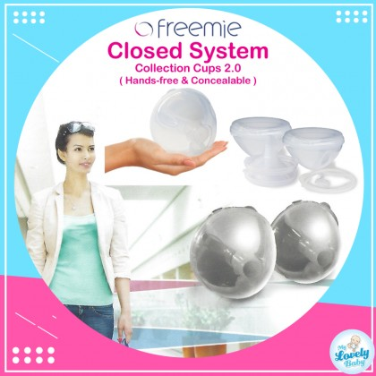 [ New Design ] Freemie Closed System Breast Milk Collection Cups (25mm & 28mm)