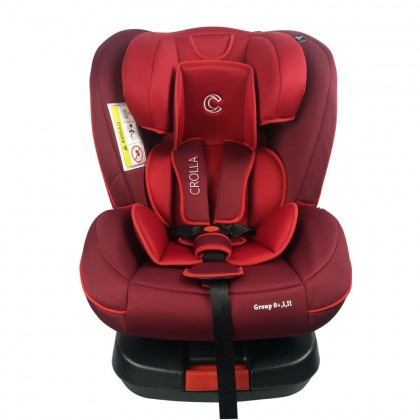 Crolla S+ Isofix Car Seat ( FOC Fitch Baby Swing worth RM499 )