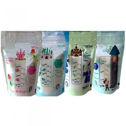 Milk Planet My Little One Fairy Tale Storage Bags 28pcs - 5oz/150ml