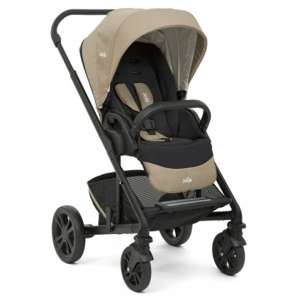 Joie Chrome Stroller with Carry Cot ( Free Princeton Diaper Bag )