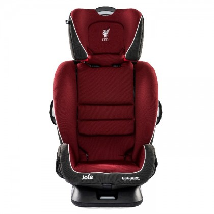 [ Liverpool Series ] Joie Every Stage Fx LFC Isofix Car Seat - Red Liverbird ( FOC Seat Protector + Rycom Nasal Aspirator )