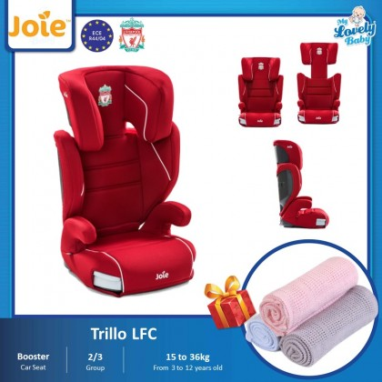 [ Liverpool Series ] Joie Trillo LFC Booster Car Seat (Free Comfy Blanket)