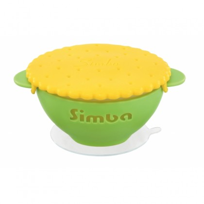 Simba Anti-Scald Silicon Suction Bowl