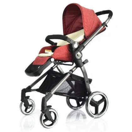 Evenflo Nuveu Two Way Facing Stroller ( FOC Princeton Body Support )