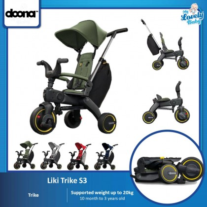 Doona Liki S3 Trike | The World's Most Compact Folding Trike