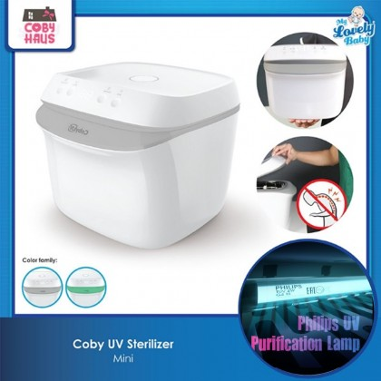 Coby UV Mini Sterilizer (FOC Rico Wet Wipes 50pcs x3)
