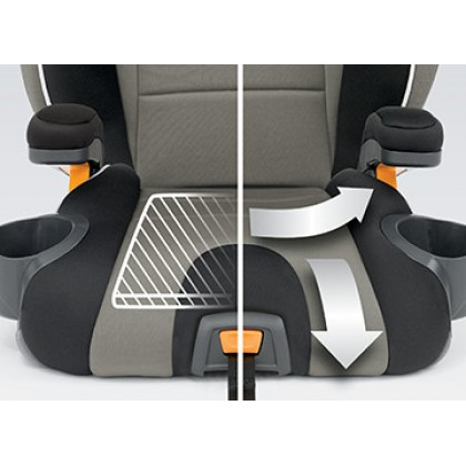 Chicco KidFit Belt Positioning Booster Seat (Scan Code & Fill in the details to get RM 150 discount)