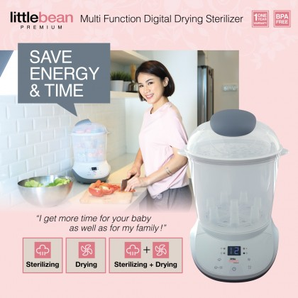 Little Bean Premium 4-in-1 Sterilizer Combo Set