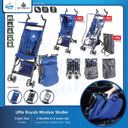 Little Royals Windsor Micro-Folding Stroller