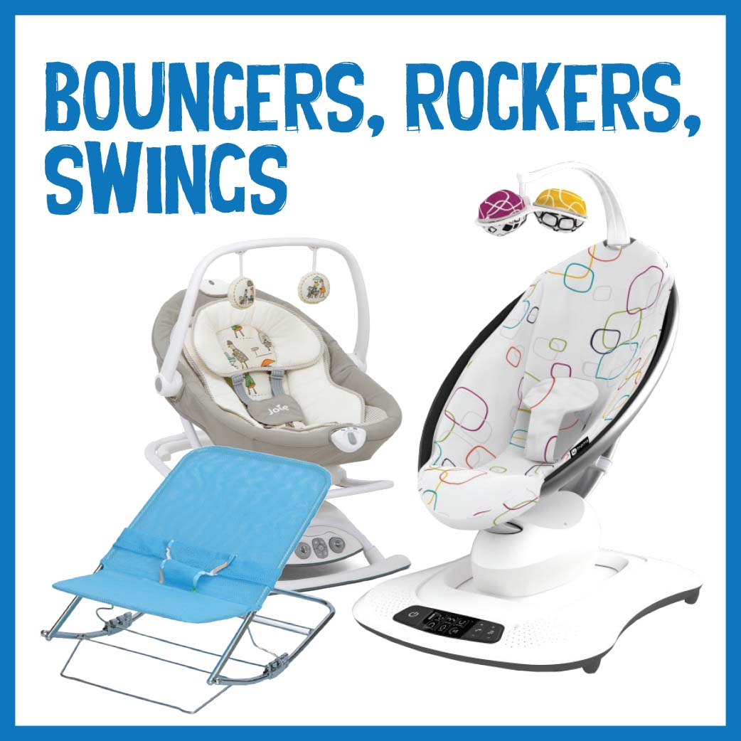 Bouncers, Rockers, Swings