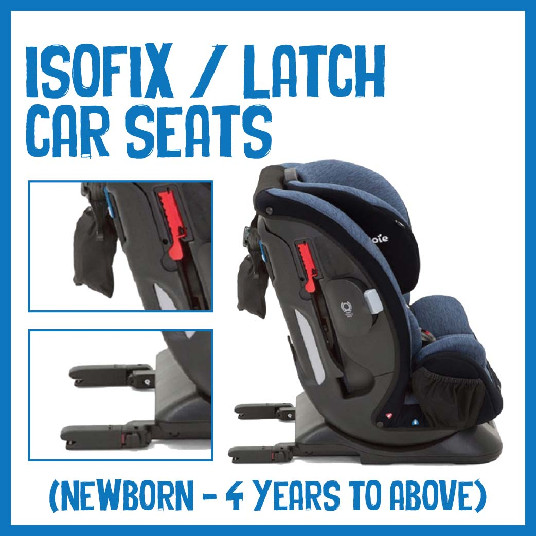 Isofix / Latch Car Seats