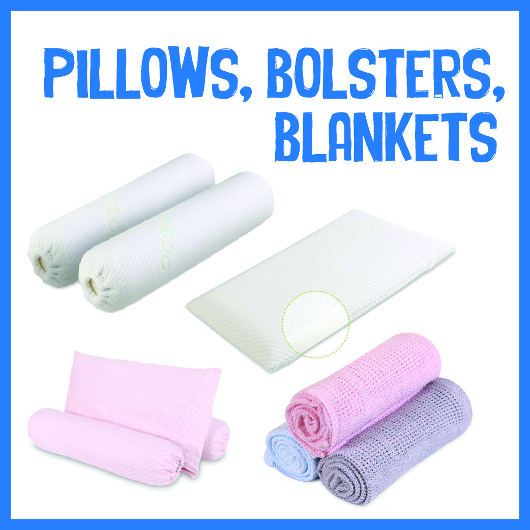 Pillows, Bolsters, Blankets