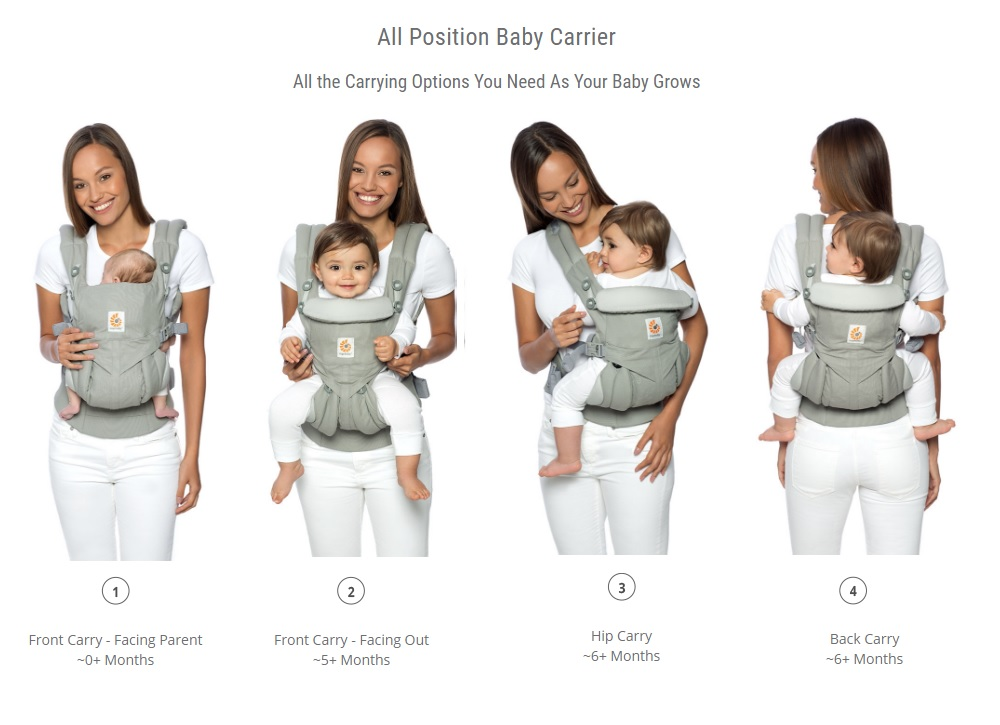 Ergobaby Omni 360 Cool Air Mesh Baby Carrier Carriers Slings